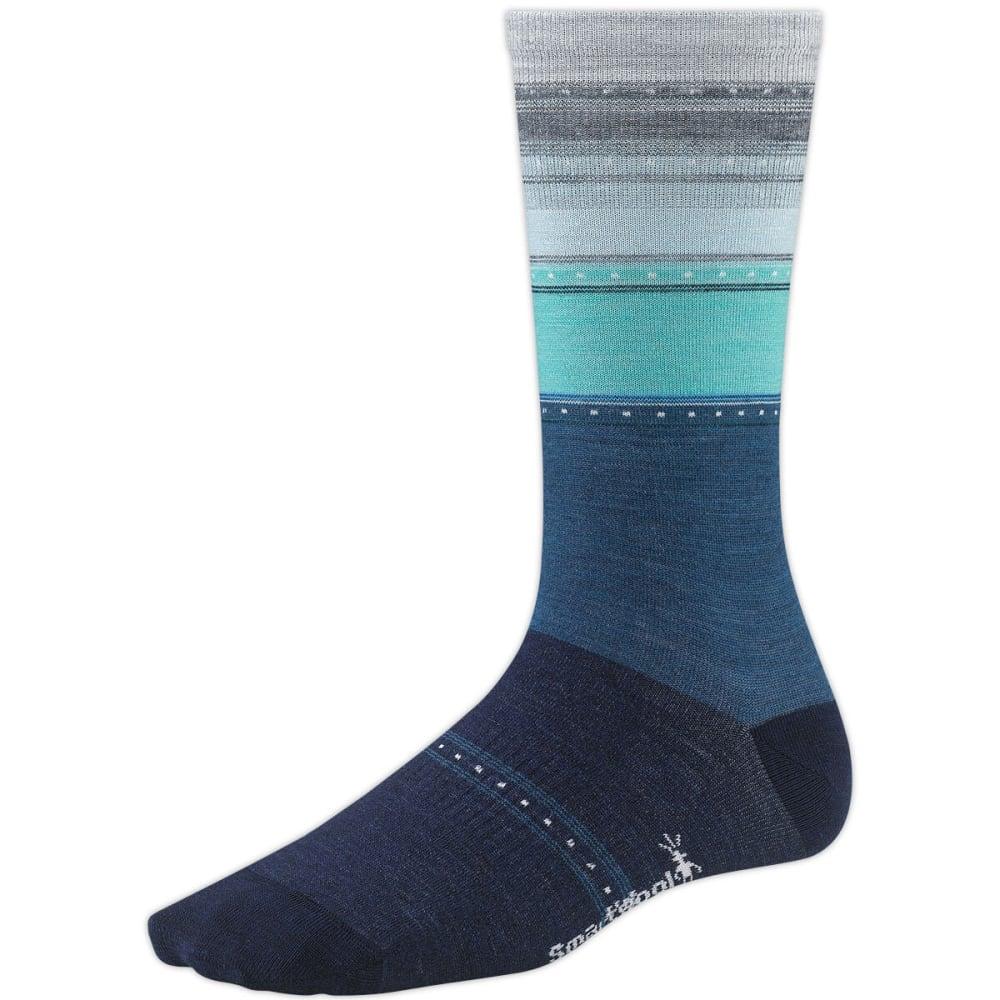 SMARTWOOL Women's Sulawesi Stripe Socks - BLUE VIOLET