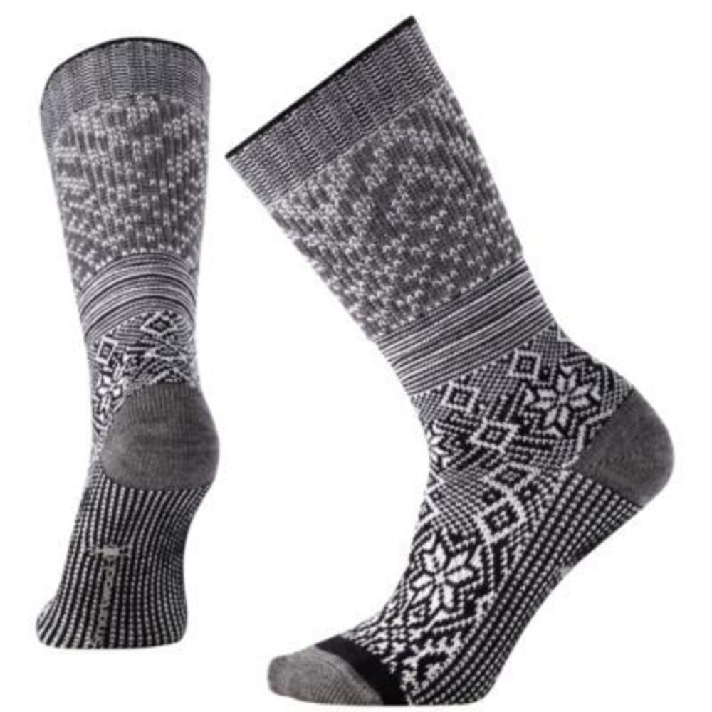 SMARTWOOL Snowflake Flurry Socks - BLACK
