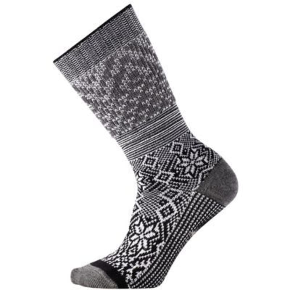 SMARTWOOL Snowflake Flurry Socks - BLACK