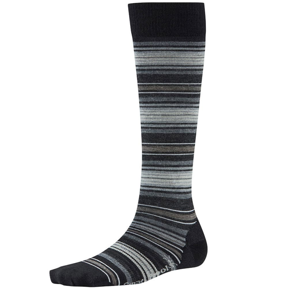 SMARTWOOL Women's Arabica II Knee-High Socks - BLACK