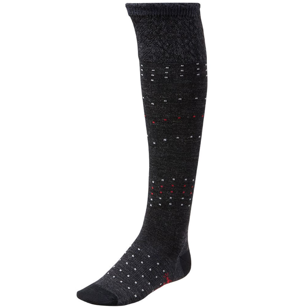 SMARTWOOL Women's Fanflur Socks - CHARCOAL