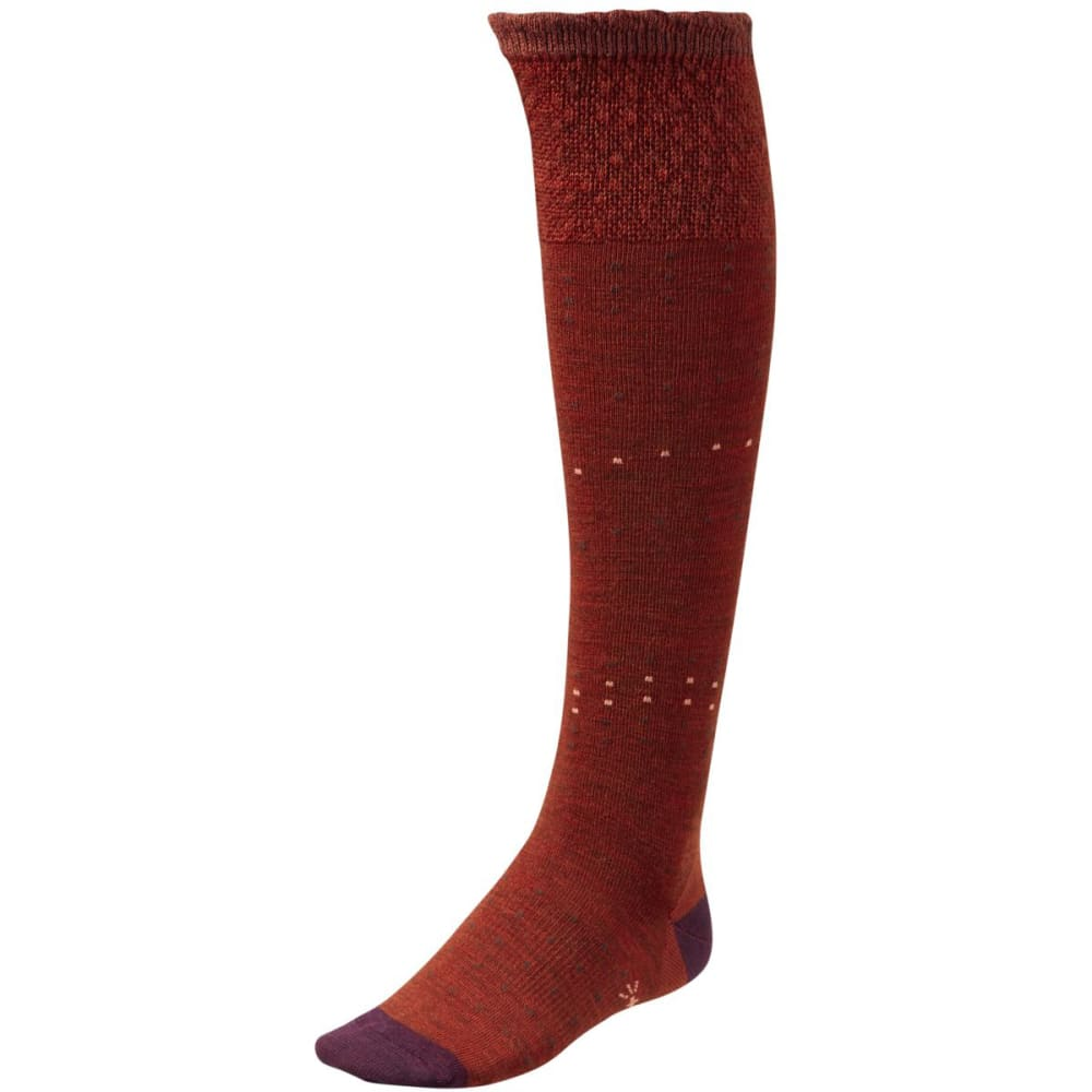 SMARTWOOL Women's Fanflur Socks - CINNAMON HEATHER