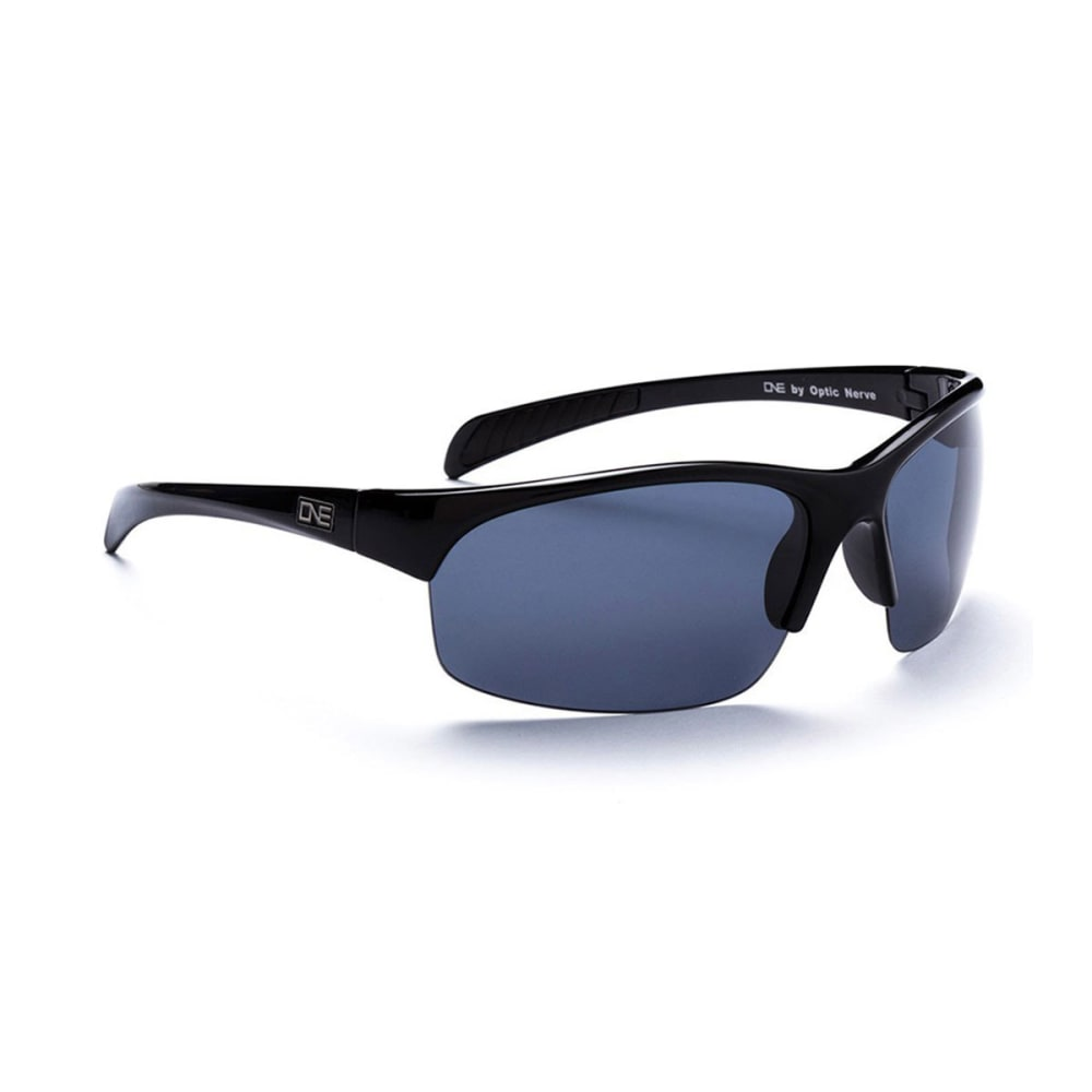 OPTIC NERVE ONE Singletrack Sunglasses - BLACK