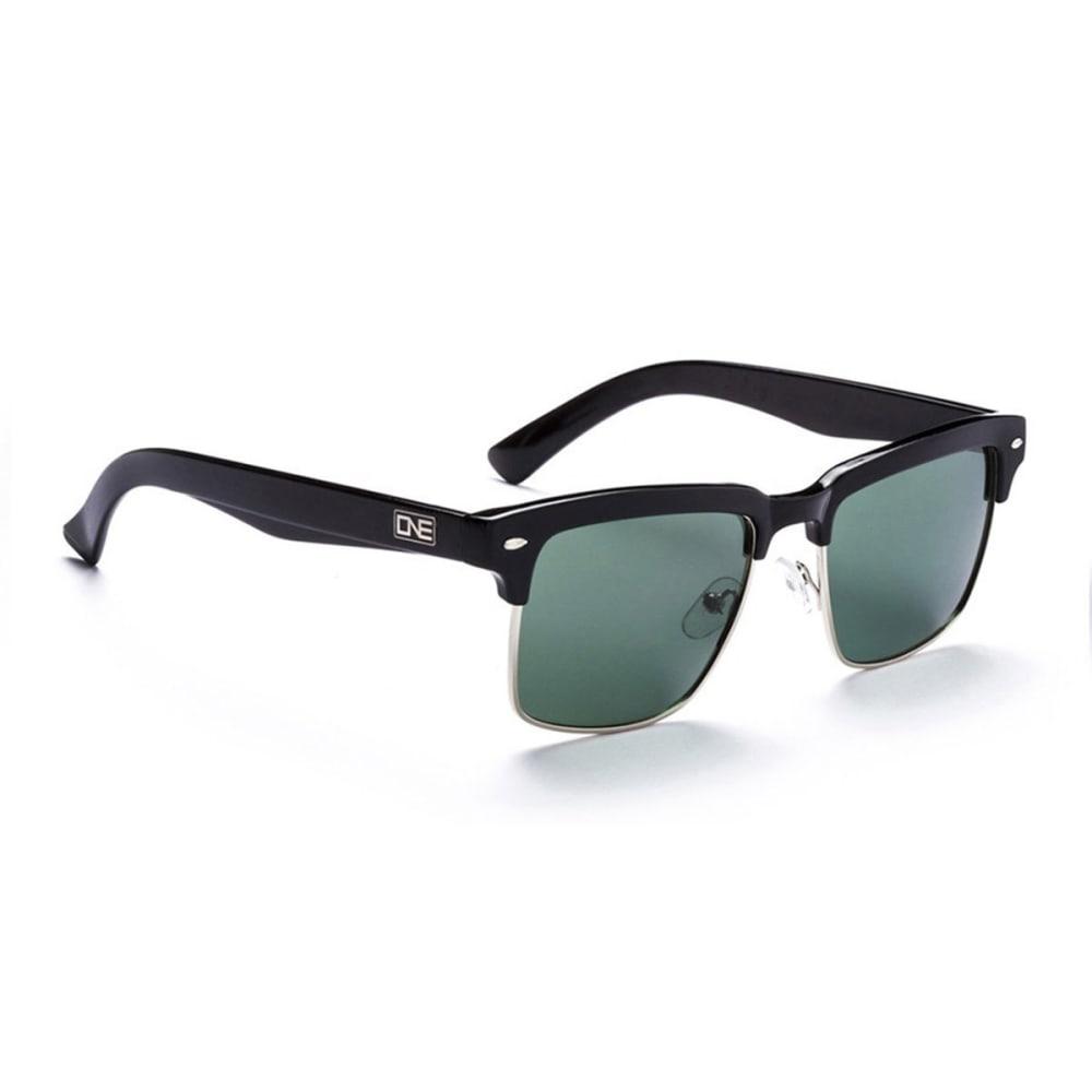 OPTIC NERVE ONE Throwback Sunglasses, Gray/Smoke - BLACK