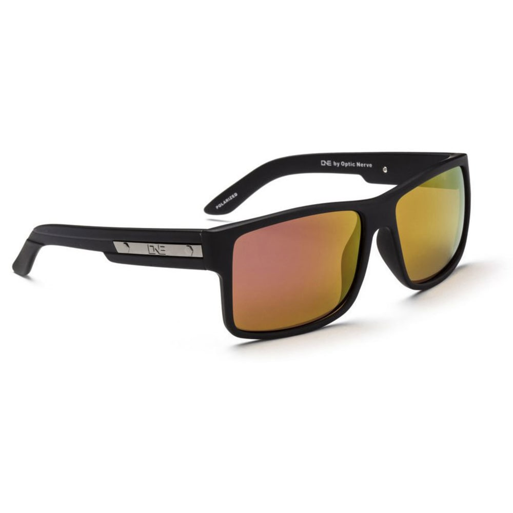 OPTIC NERVE Festivus Sunglasses, Matte Black - ONYX