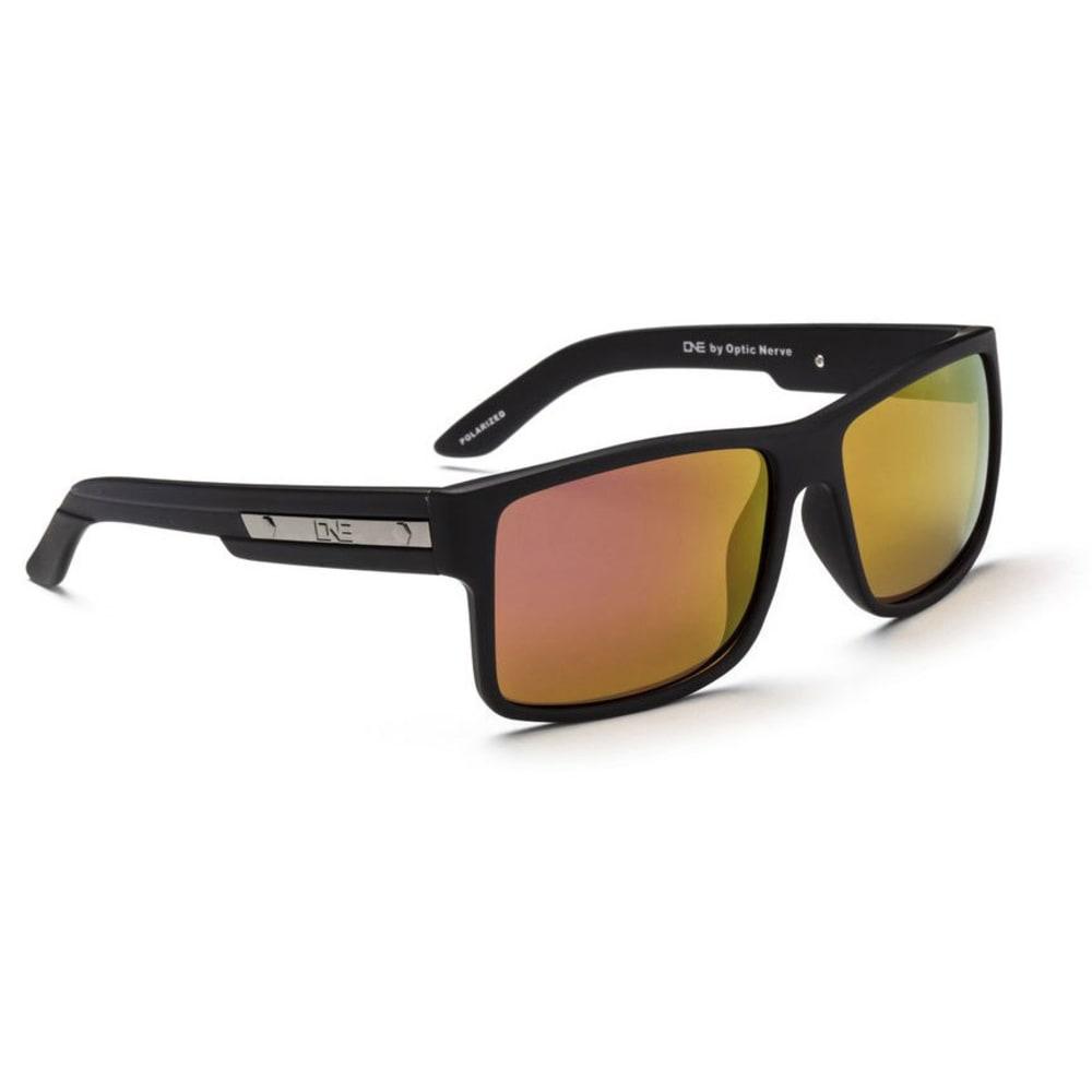 OPTIC NERVE ONE Thriller Sunglasses, White/Blue - ONYX