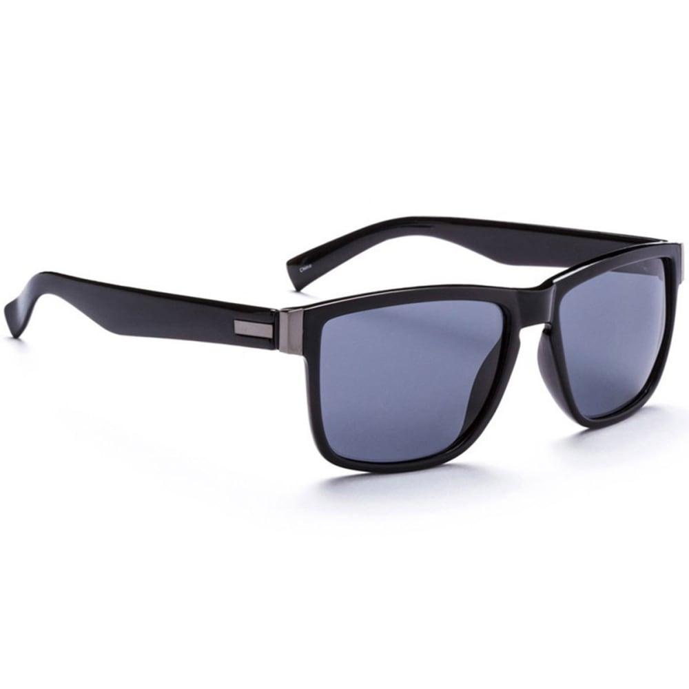 OPTIC NERVE ONE Hendirx Sunglasses, Gray/Smoke - BLACK