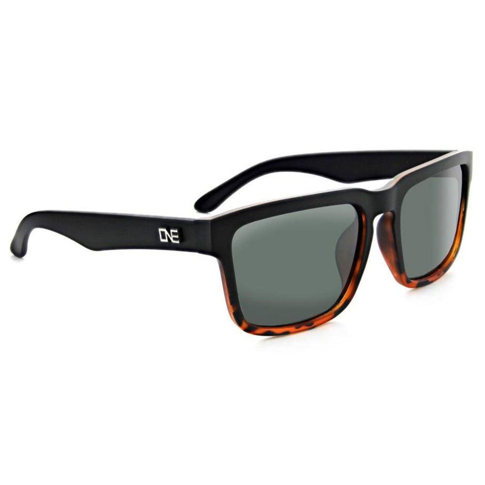 OPTIC NERVE ONE Mashup Sunglasses, Gray/Smoke - BLACK