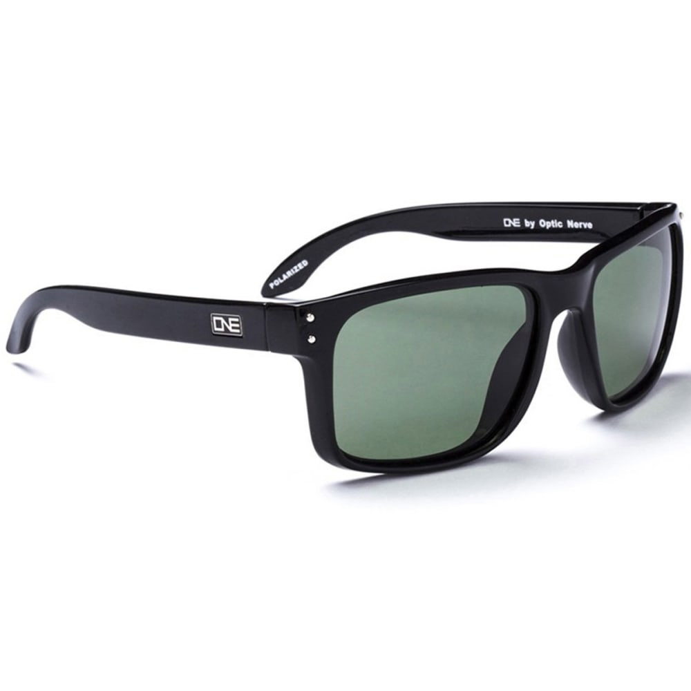 OPTIC NERVE ONE Thriller Sunglasses, Black/Smoke - BLACK