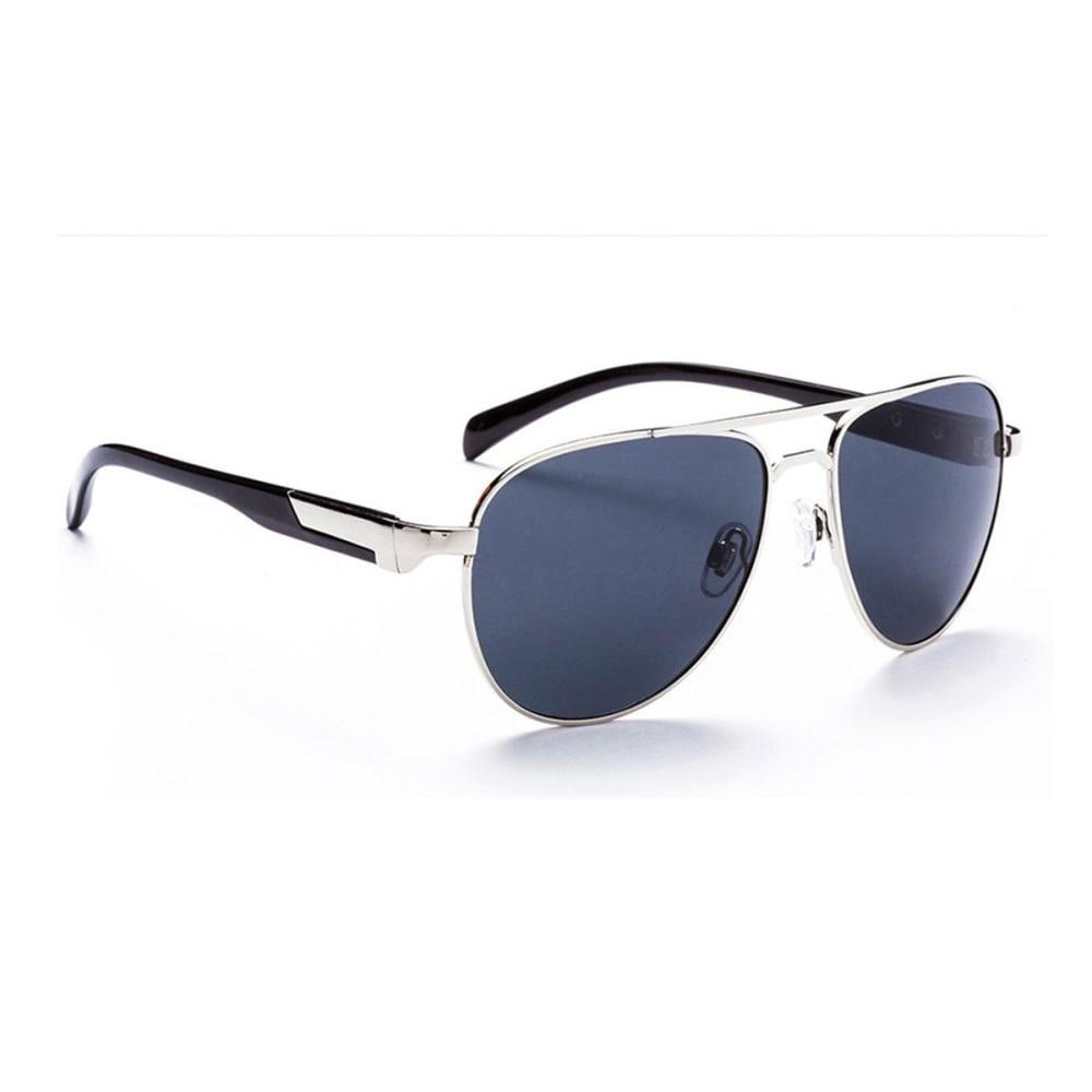 OPTIC NERVE ONE Cadet Sunglasses, Gunmetal/Smoke - GREY/PINK