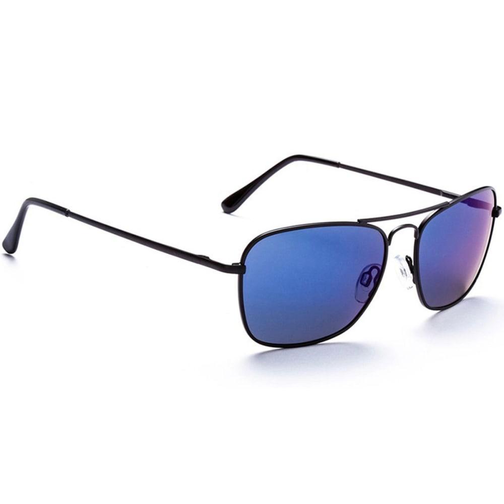 OPTIC NERVE ONE Maverick Sunglasses, Black/Smoke - BLACK
