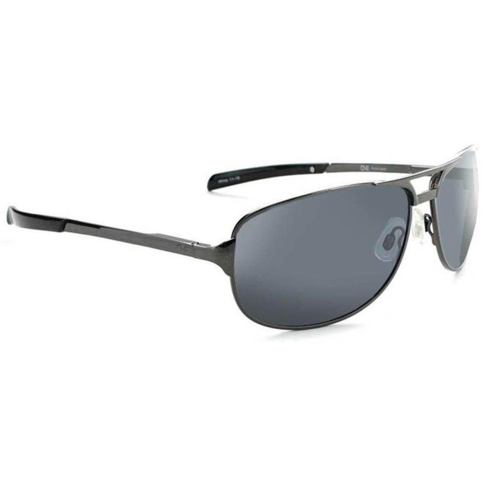 OPTIC NERVE ONE Siege Sunglasses, Gunmetal/Smoke - GREY/PINK