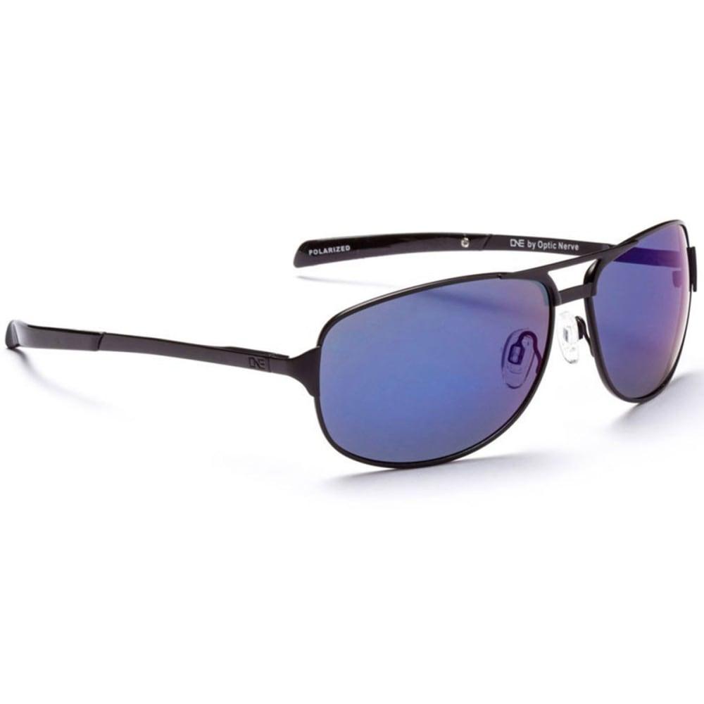 OPTIC NERVE ONE Siege Sunglasses, Black/Smoke - BLACK