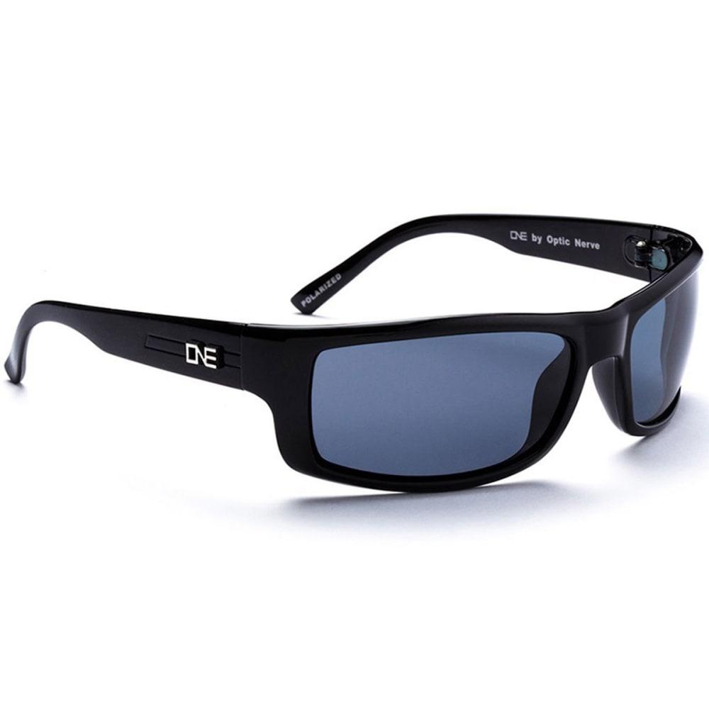 OPTIC NERVE ONE Fourteener Sunglasses, Demitasse/Gray - BLACK 16095