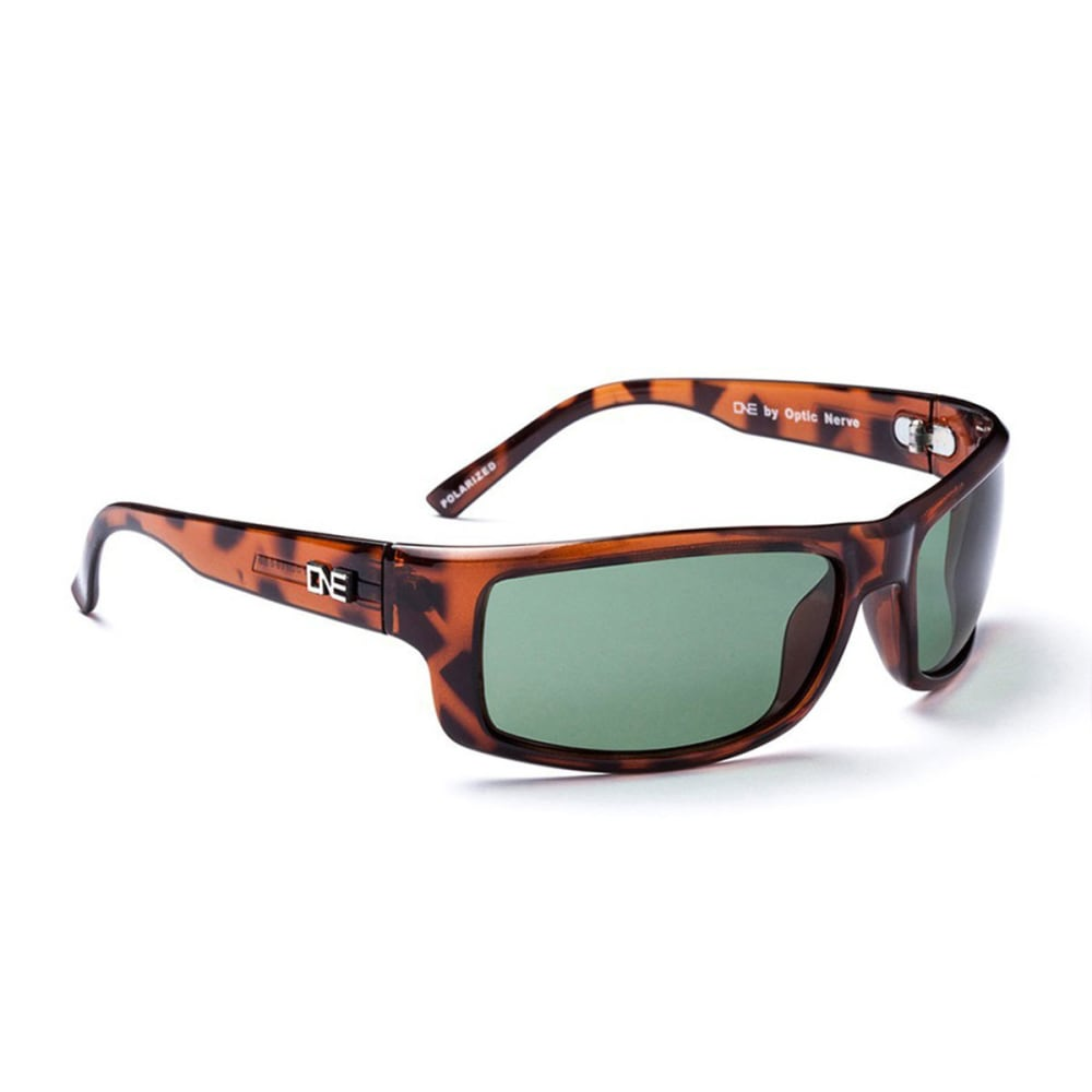 OPTIC NERVE ONE Fourteener Sunglasses, Demitasse/Gray - SMKY BRN/OLIVE 16096