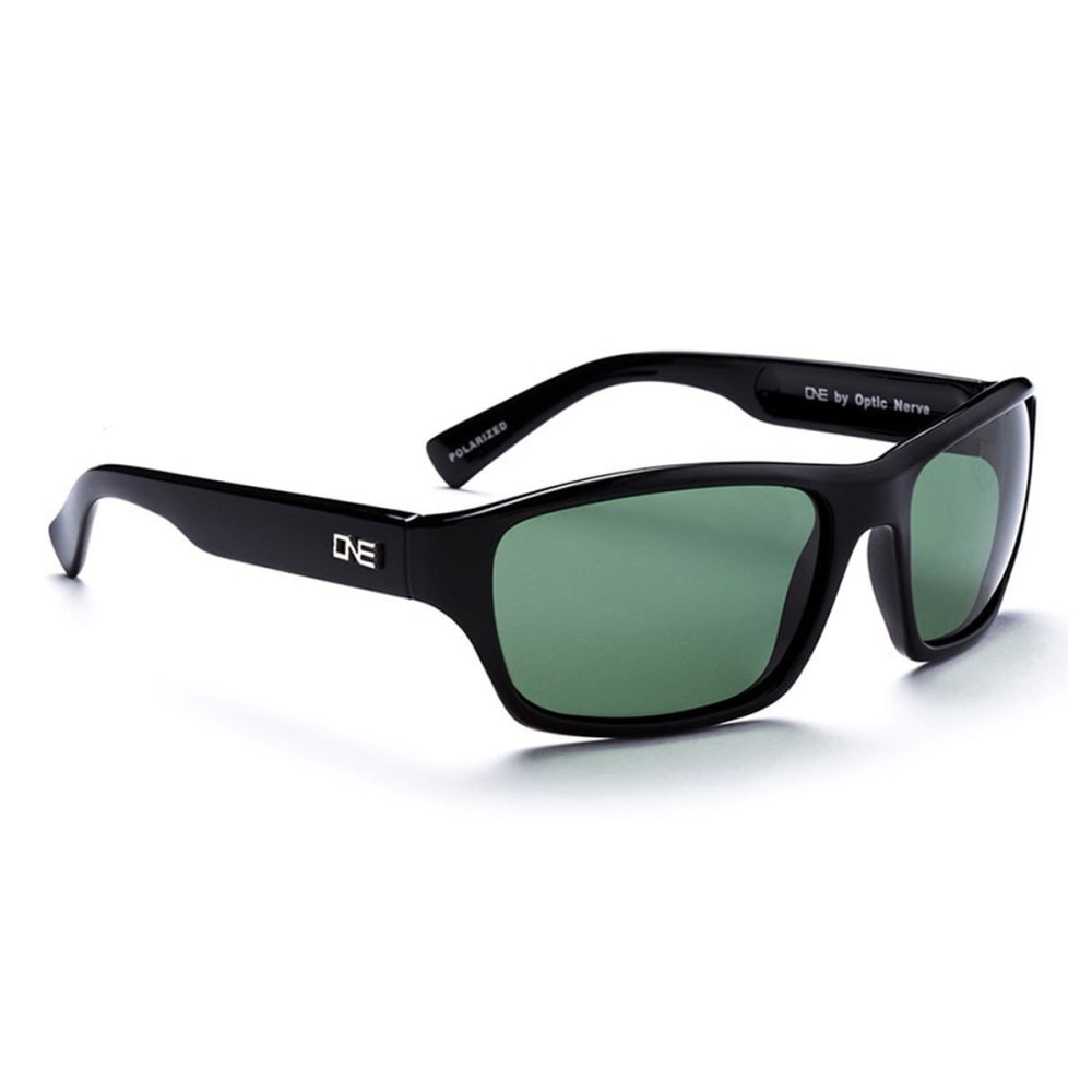 OPTIC NERVE ONE Tundra Sunglasses, Black/Gray - BLACK