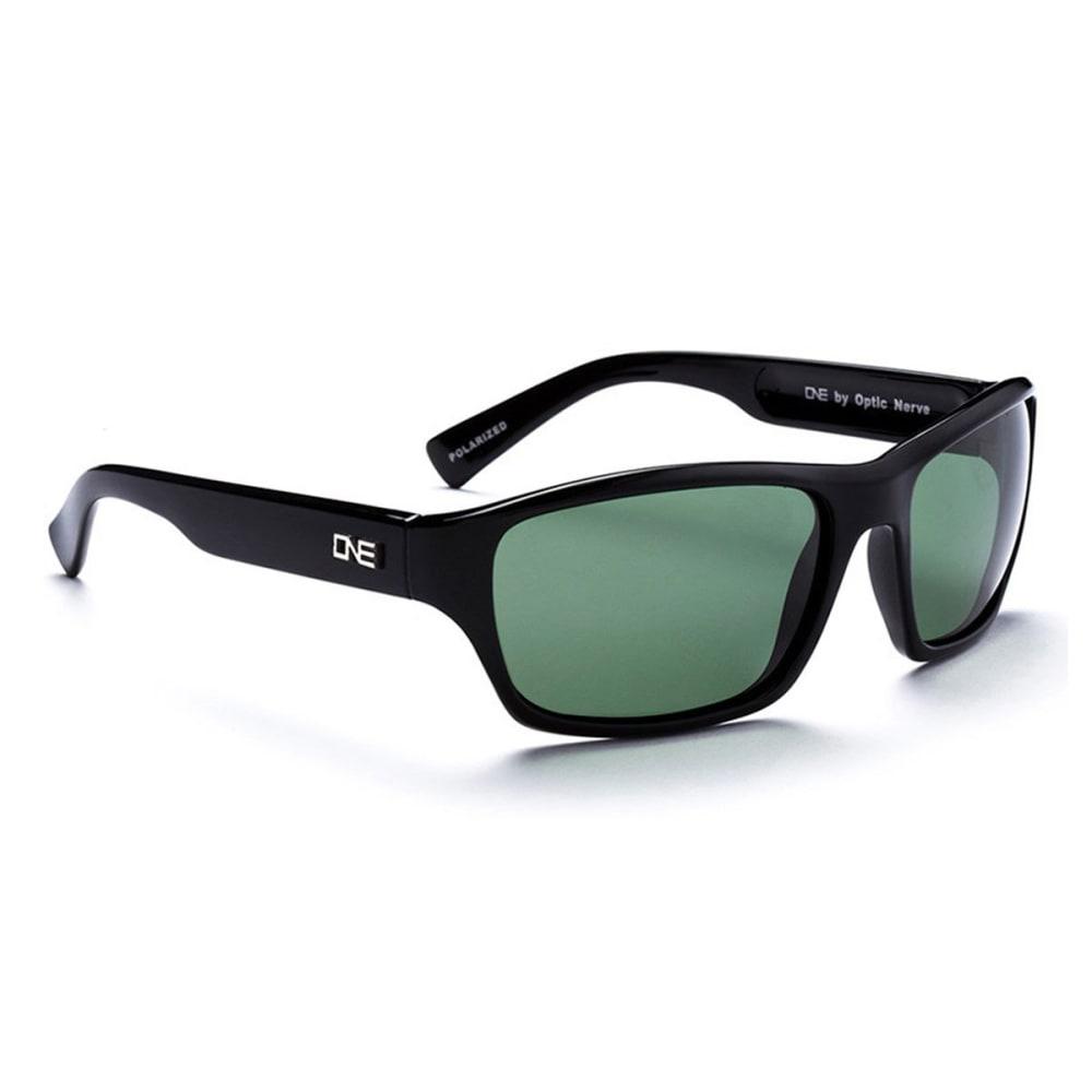OPTIC NERVE ONE Tundra Sunglasses, Black/Gray - BLACK