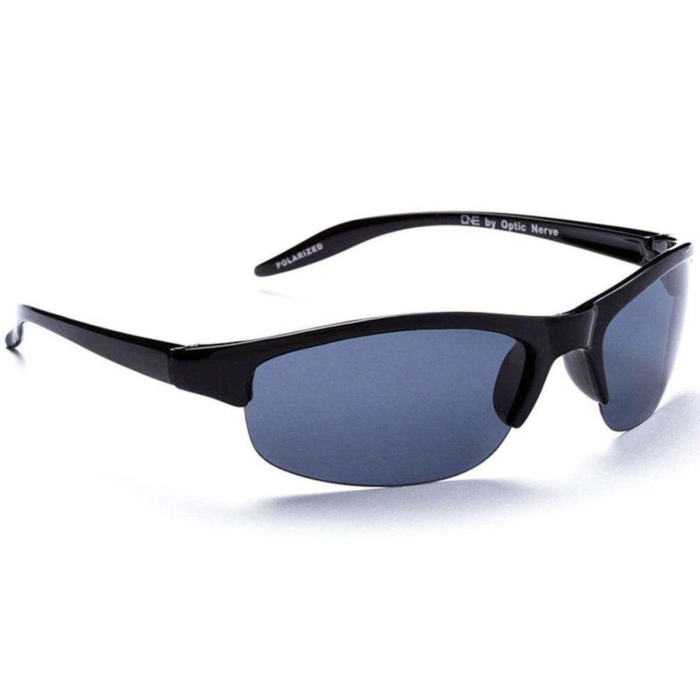 OPTIC NERVE ONE Alpine Sunglasses, Demitasse/Brown - BLACK