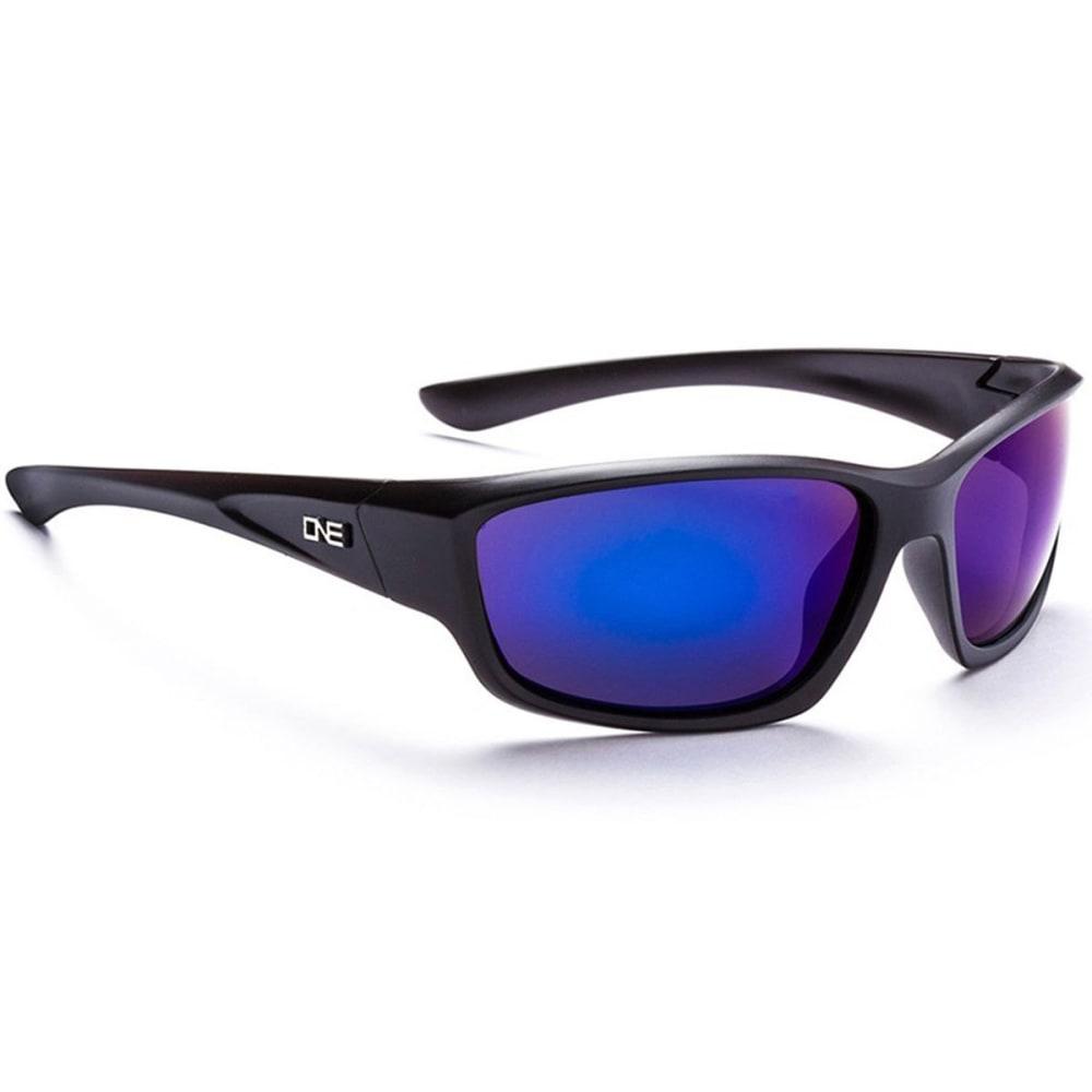 OPTIC NERVE ONE Avalanche Sunglasses, Black/Smoke ONE SIZE