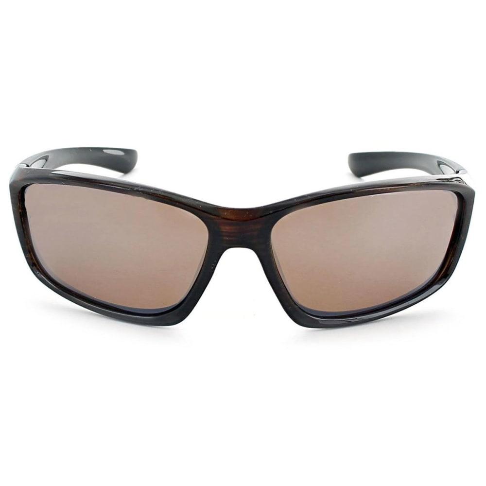 OPTIC NERVE ONE Avalanche Sunglasses, Black/Smoke - SHINY DRIFTWOOD DEMI