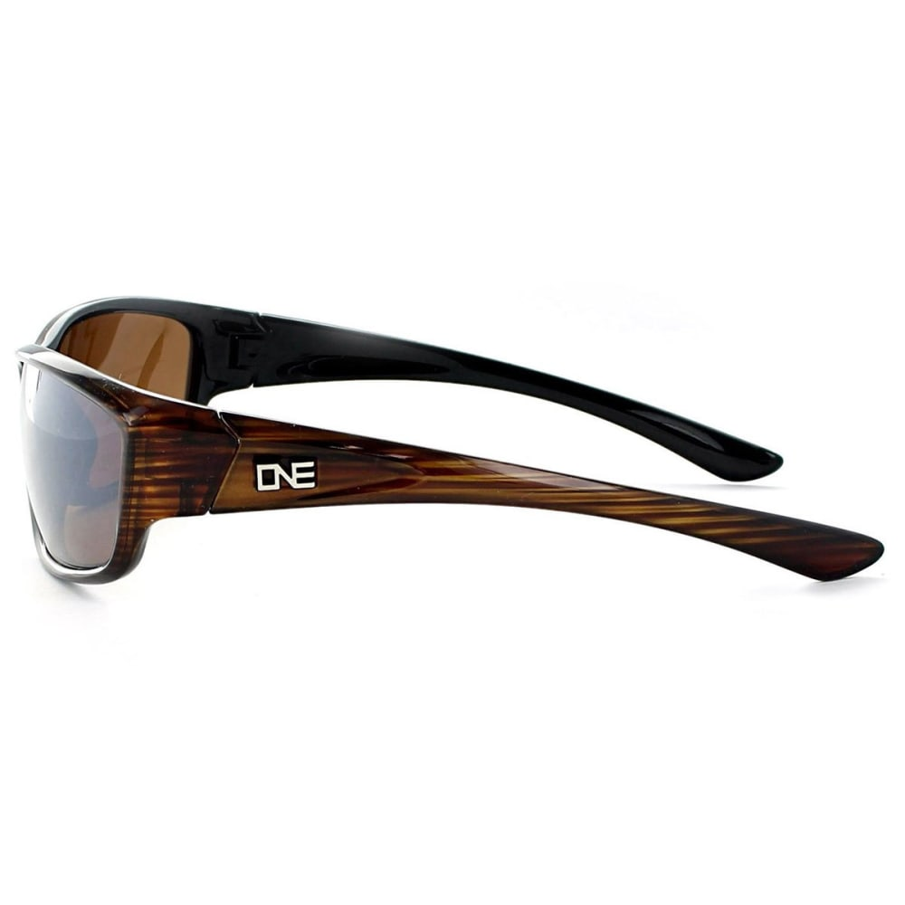 OPTIC NERVE ONE Avalanche Sunglasses, Black/Smoke - SHINY DRIFTWOOD DEMI