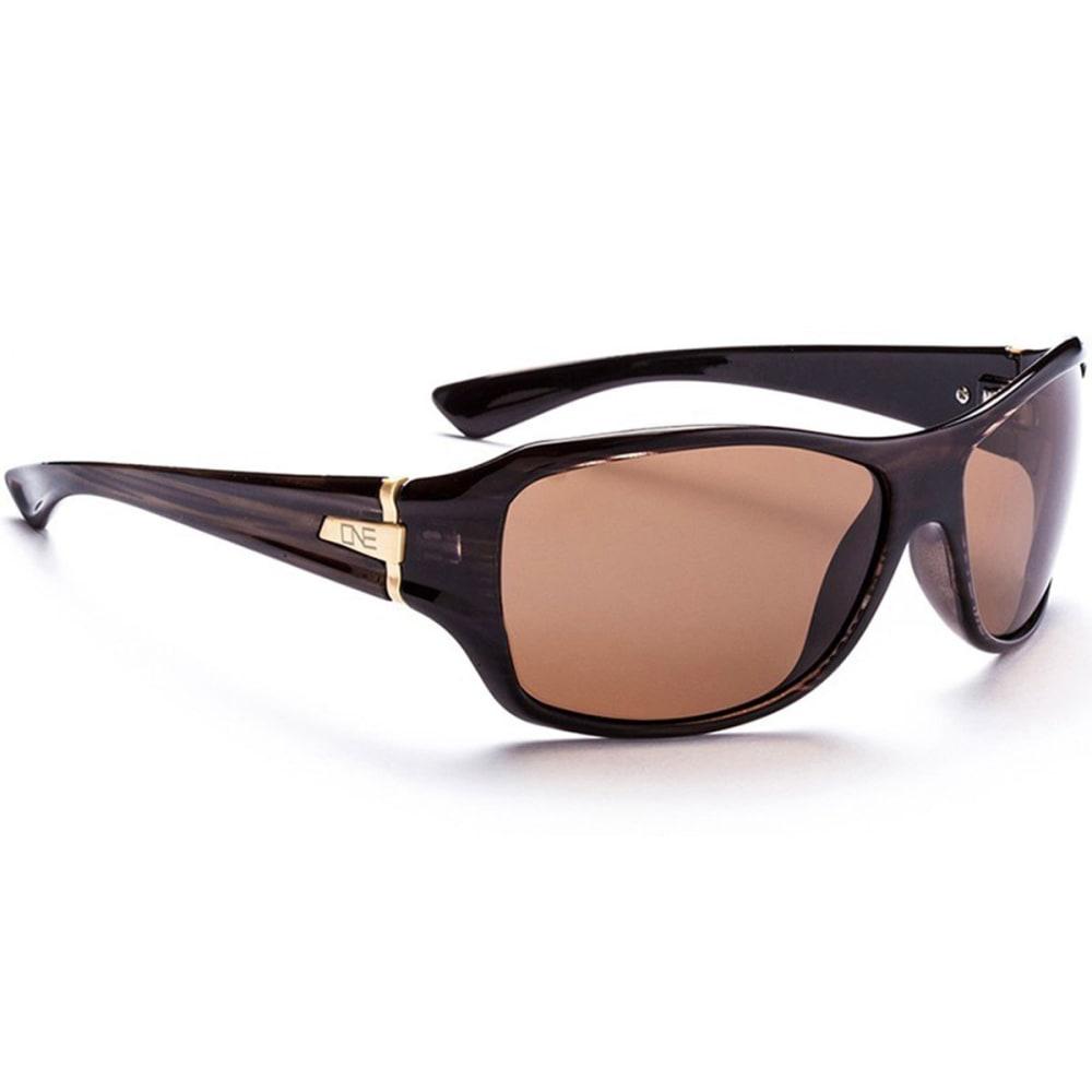OPTIC NERVE ONE Women's Athena Sunglasses, Drift/Brown - BROWN