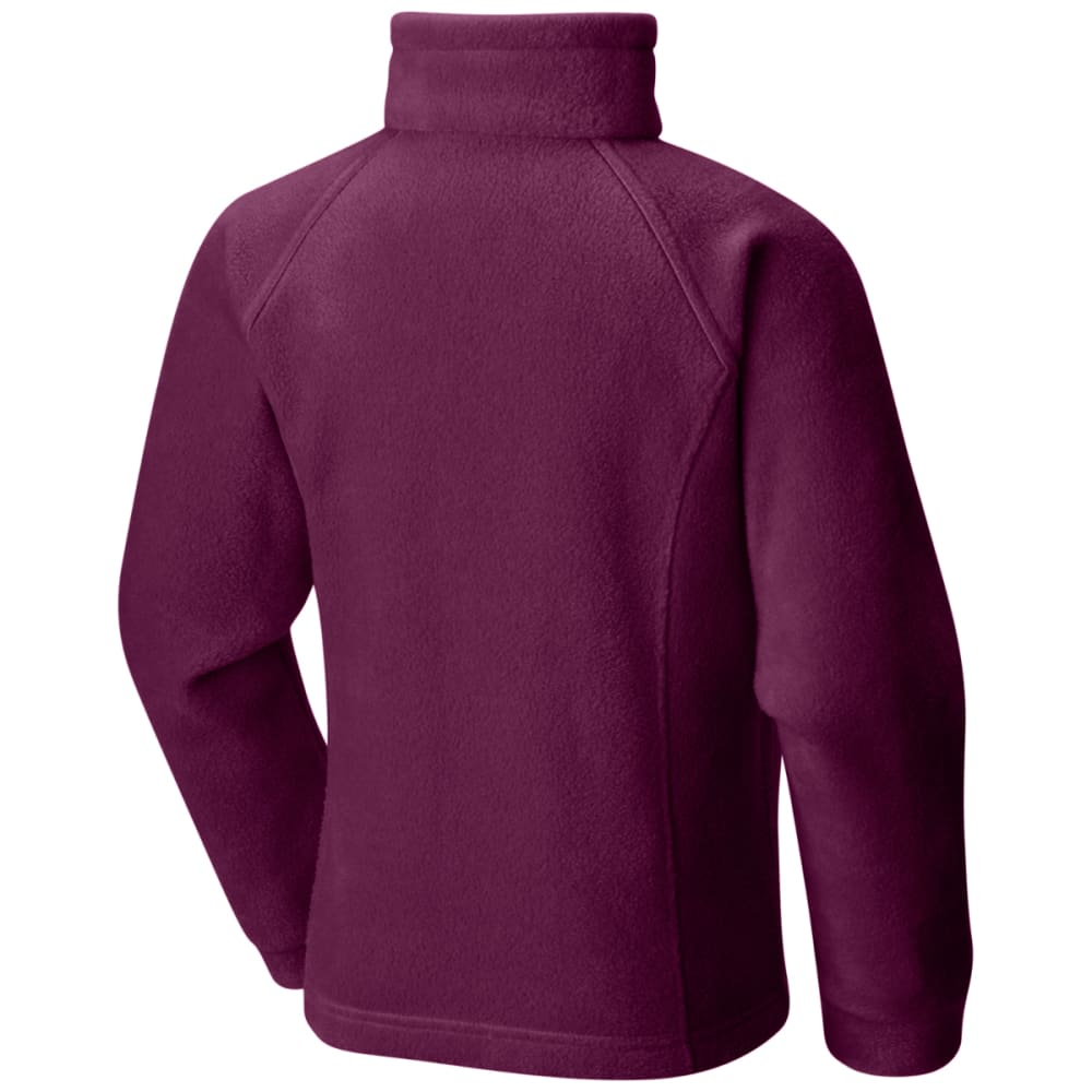 COLUMBIA Girls' Benton Springs Fleece - DARK RASBERRY-520