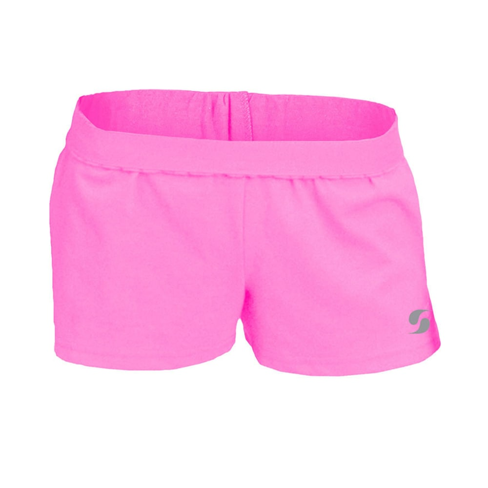SOFFE Girls' Authentic Shorts - NEON PINK-670