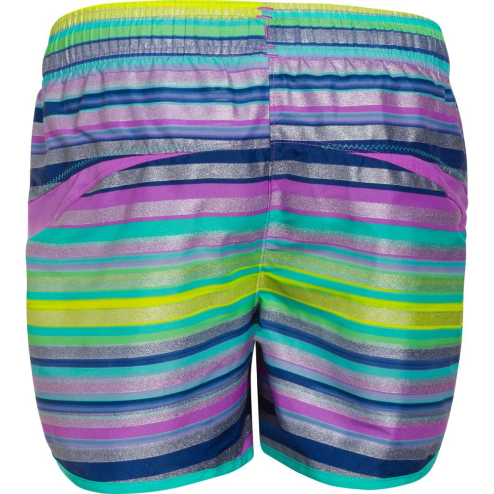 UNDER ARMOUR Girls™ Stunner Novelty Shorts - PURPLE MOSAIC