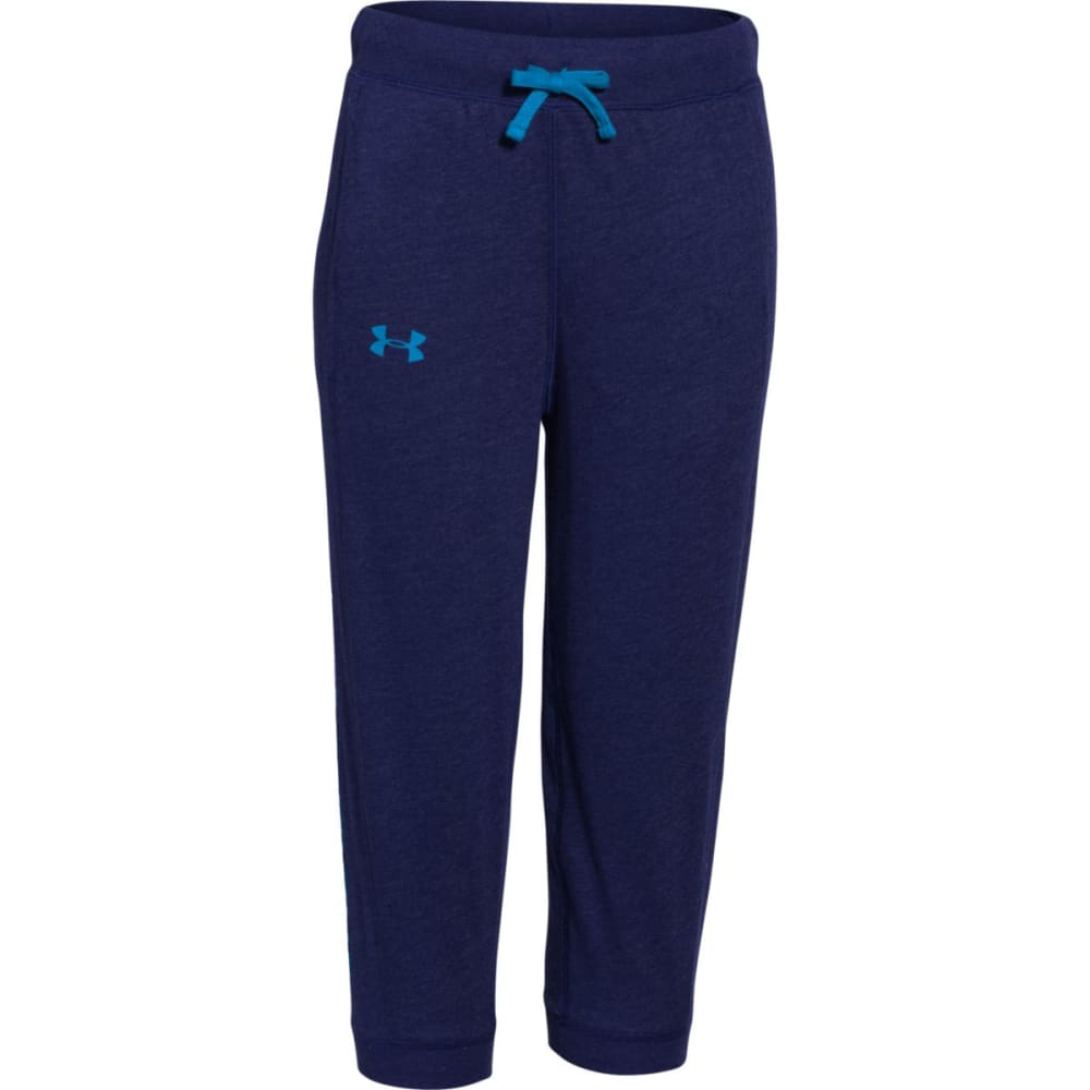 Under Armour Girls Half-Time Capri - Purple 1259932