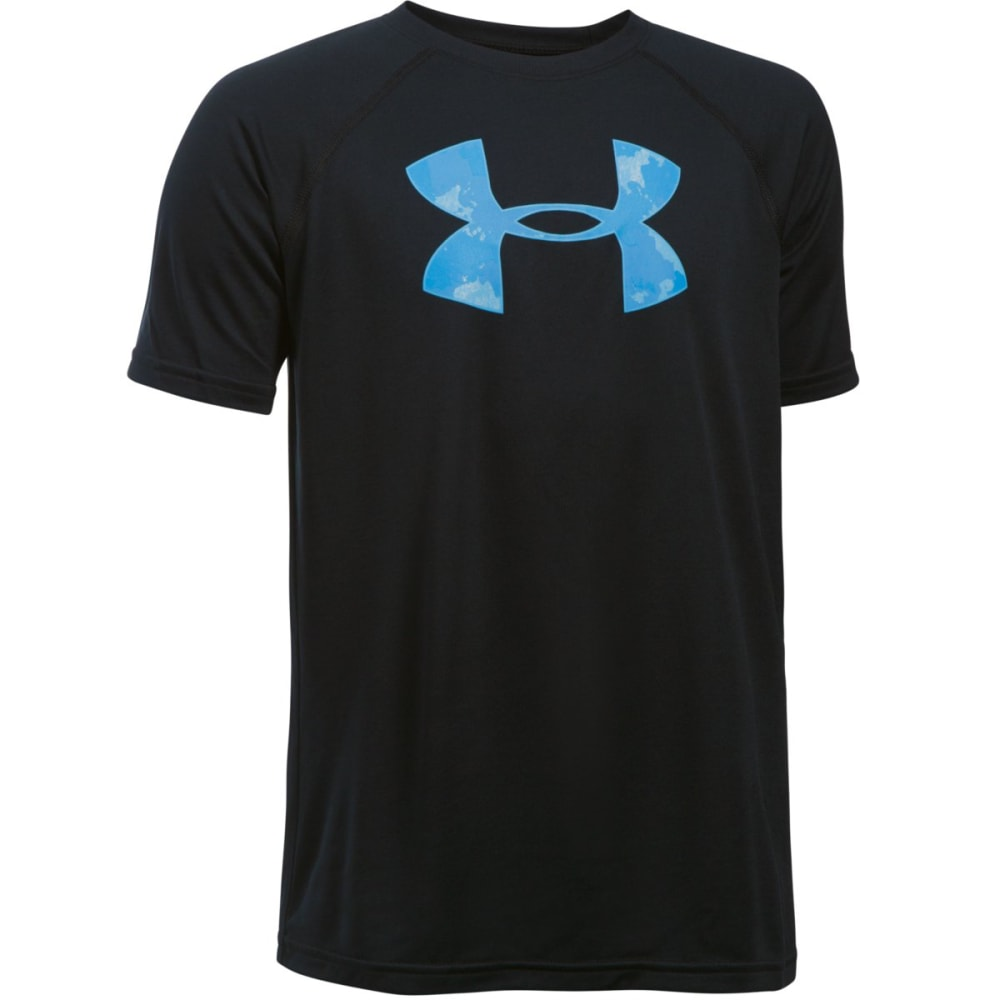 Under Armour Boys' Ua Tech Big Logo Tee - Black 1228803