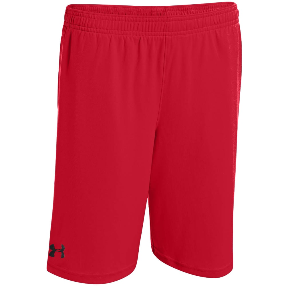UNDER ARMOUR Boys' Zinger Shorts - RED