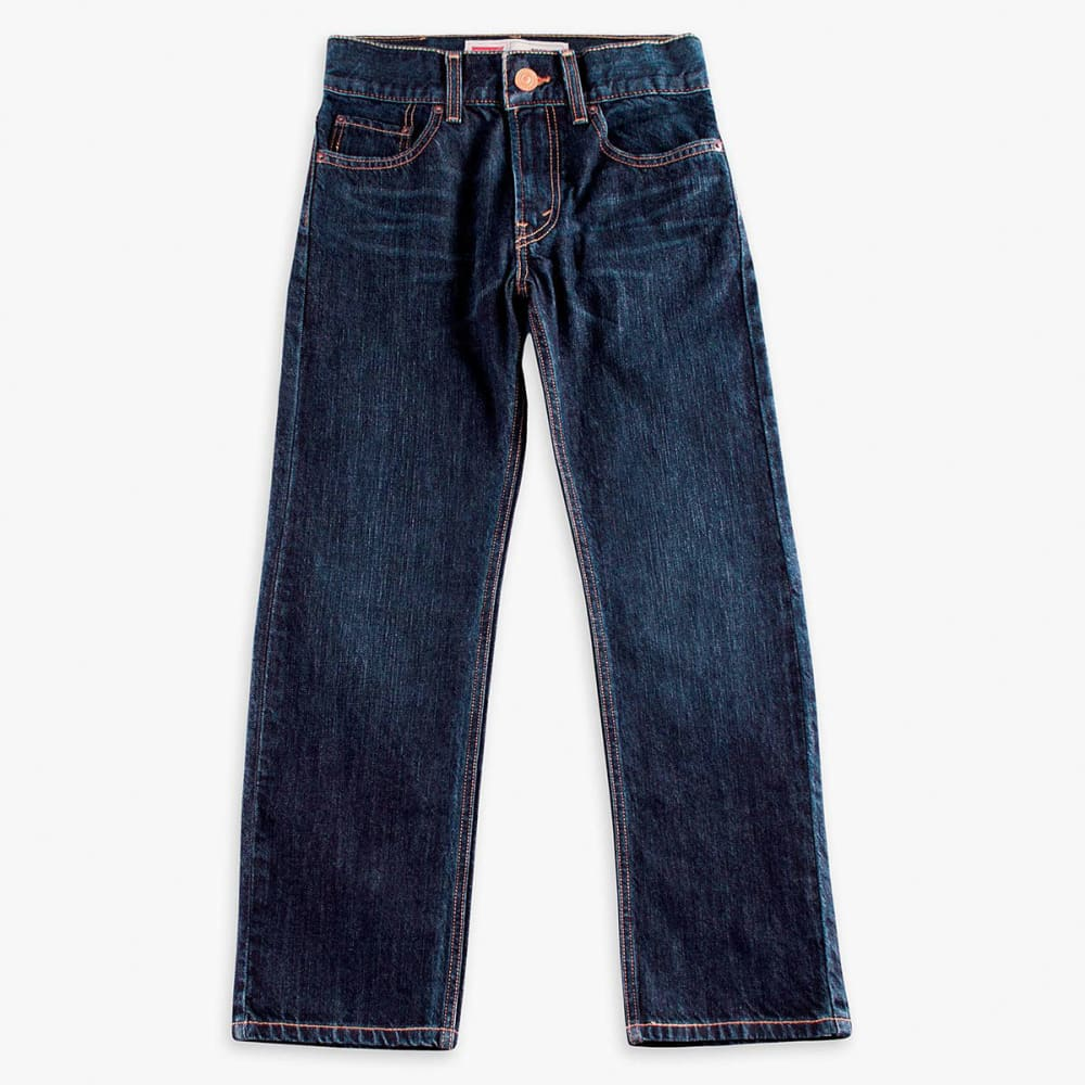 LEVI'S Boys' 505 Straight Fit Jeans 8