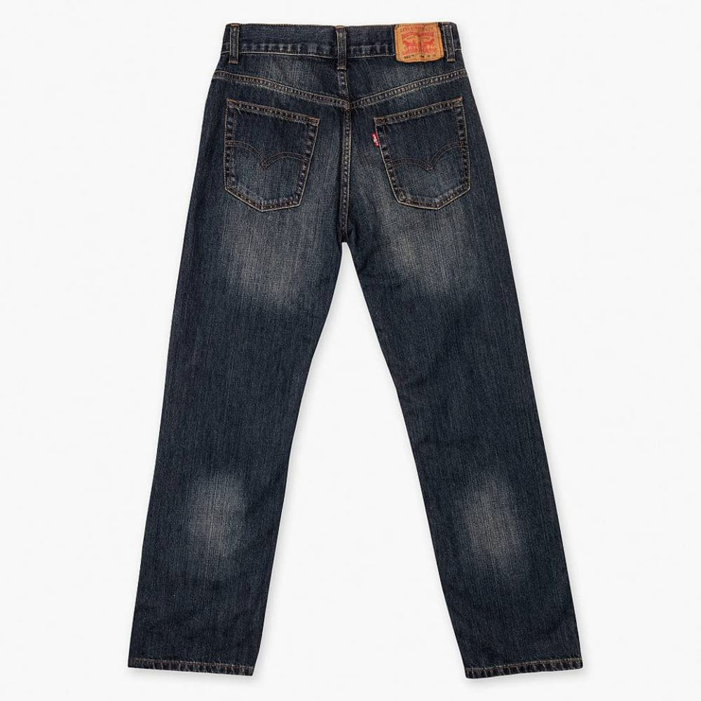 LEVI'S Boys' 505 Straight Fit Jeans - ROADIE 91R505-778