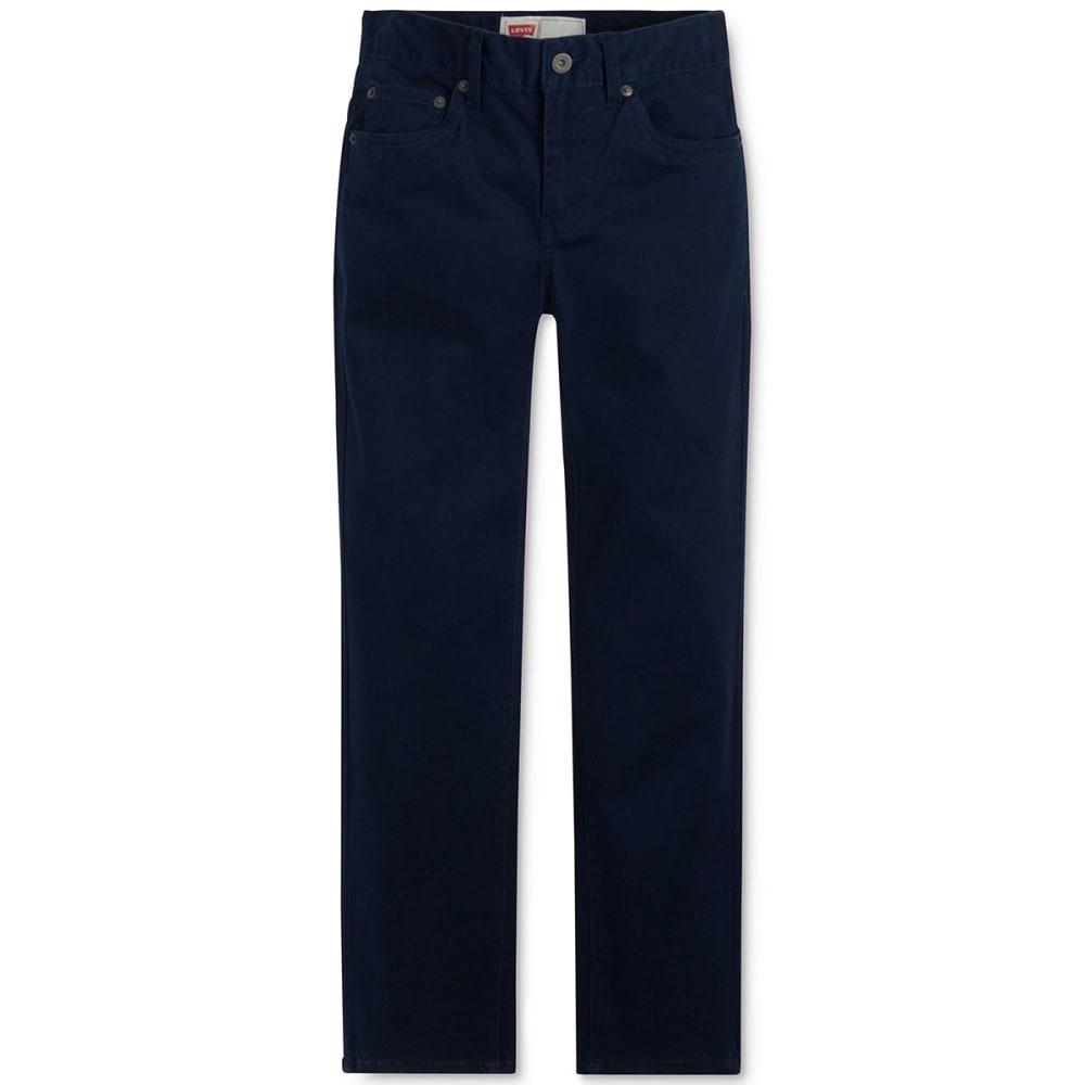 LEVI'S Boys' Slim Fit Sueded Pants 8