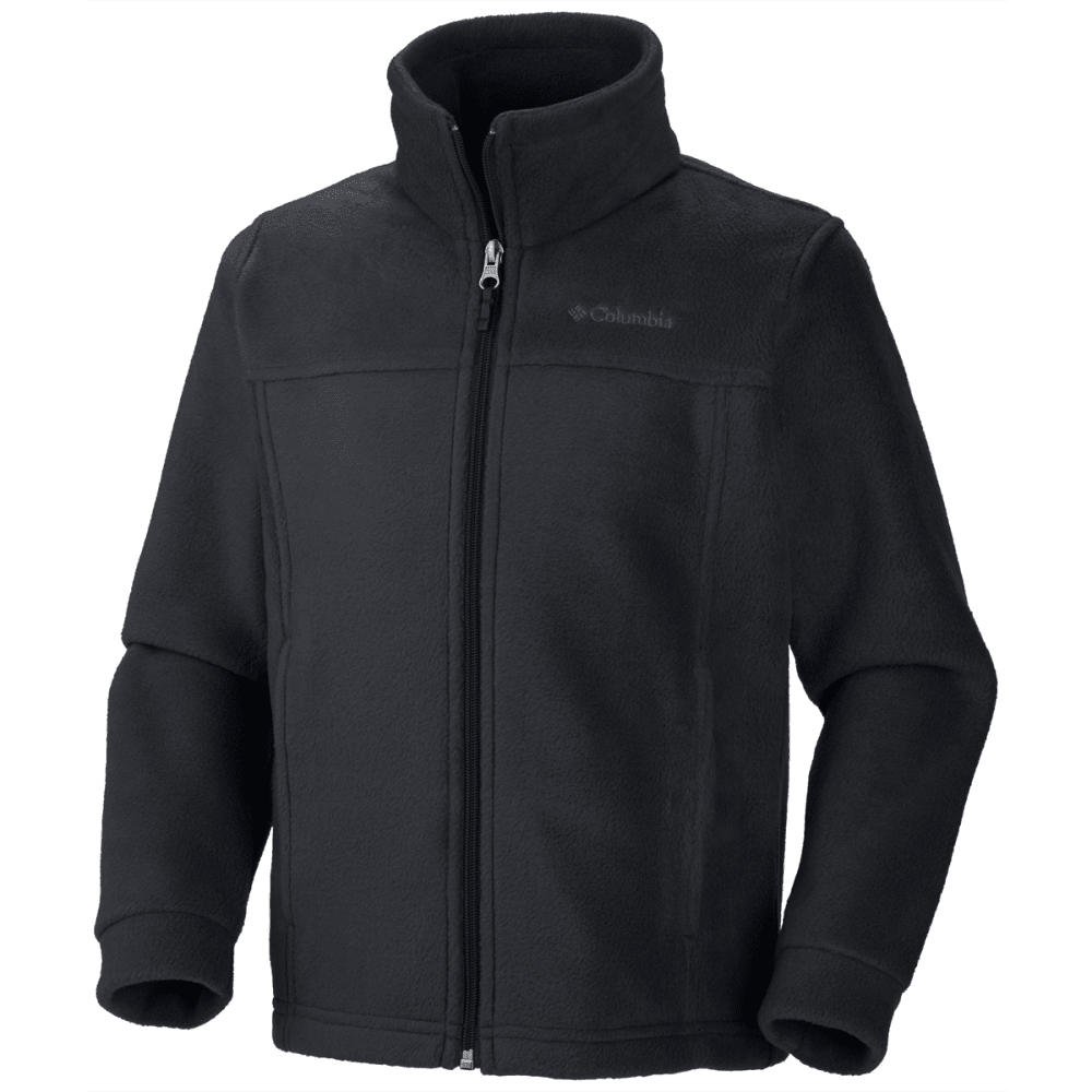 Columbia Boy's Steens MT II Fleece - 010-BLACK