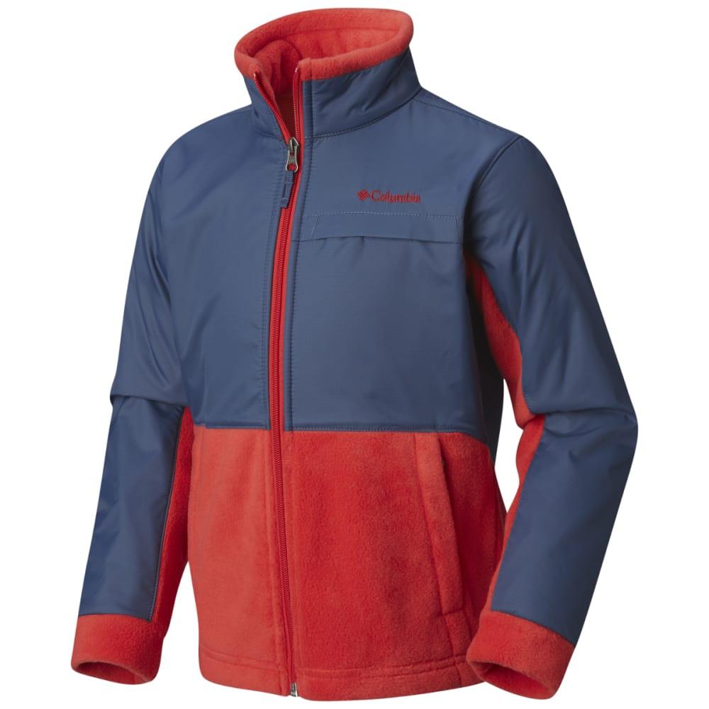 COLUMBIA Boys' Steens Mountain Overlay Fleece XS