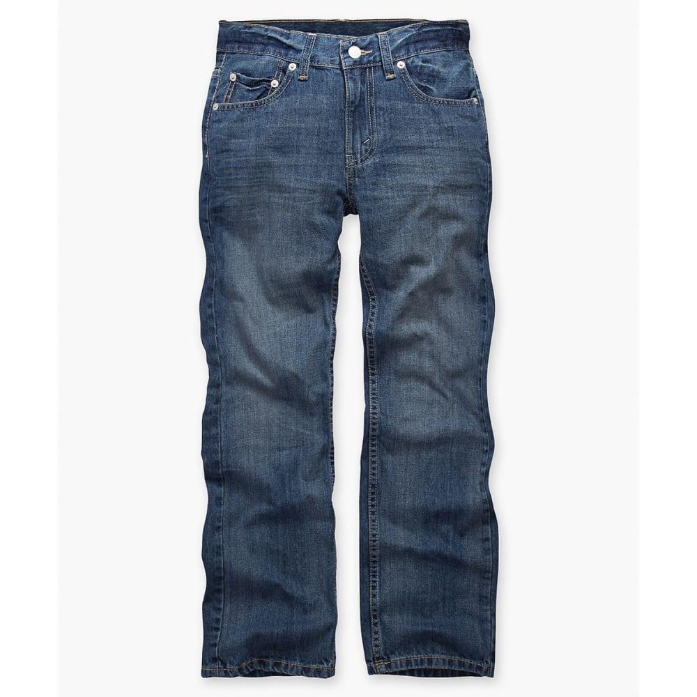 Levi's Big Boys' 505 Husky Straight Fit Jeans - Size 10