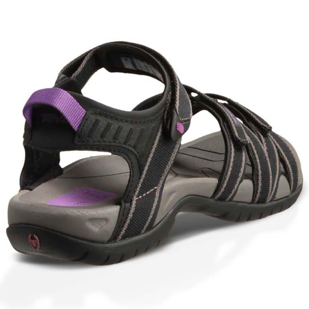 Popular Teva Verra Womens Black Purple Hiking Walking Sandals Flip Flops Summer Shoes | EBay