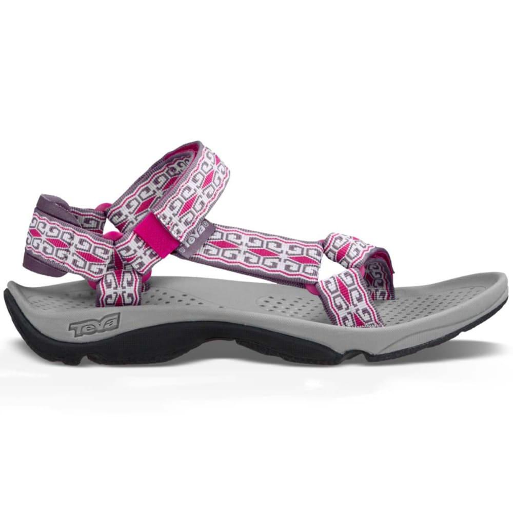 TEVA Women's Hurricane 3 Sandals, Mini Denim Purple - DENIM PURPLE