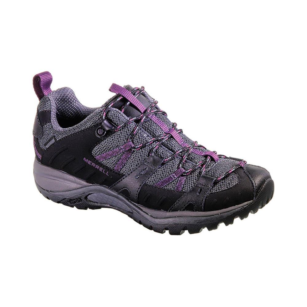 merrell s siren sport 2 wp hiking shoes black