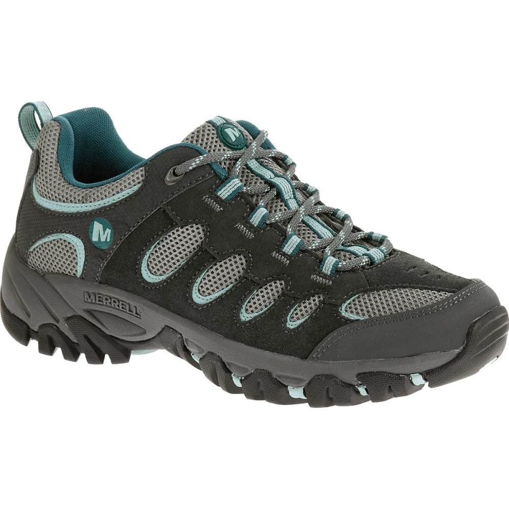 MERRELL Women's Ridgepass Hiking Shoes - GRANITE