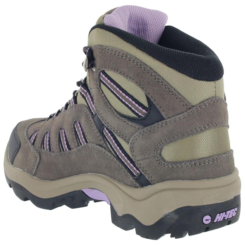 HI-TEC Women's Bandera Mid Waterproof Boots - DARK TAUPE/VIOLA