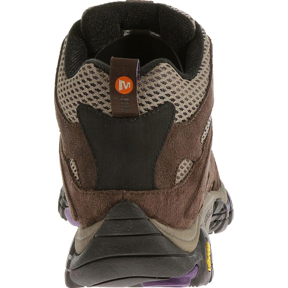 MERRELL Women's Moab Ventilator Mid Hiking Boots - BRACKEN