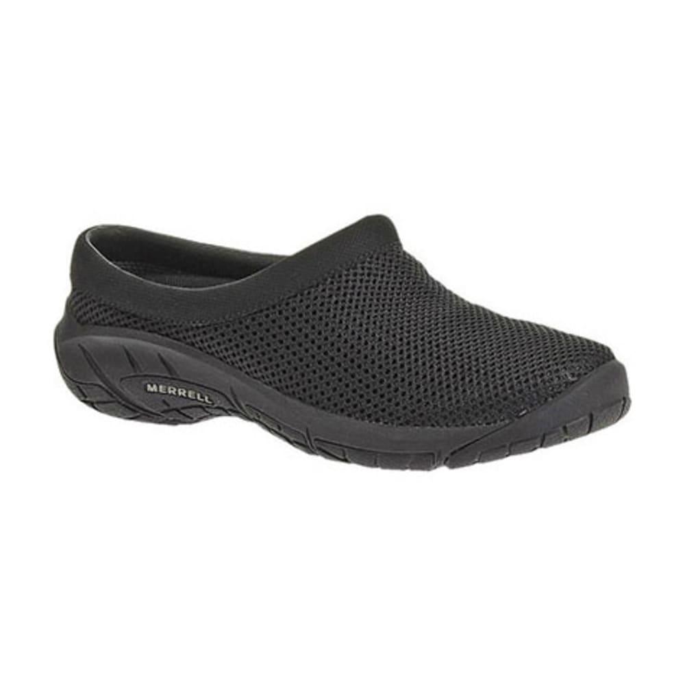 MERRELL Women's Encore Breeze 3 Shoes, Black, Wide - BLACK