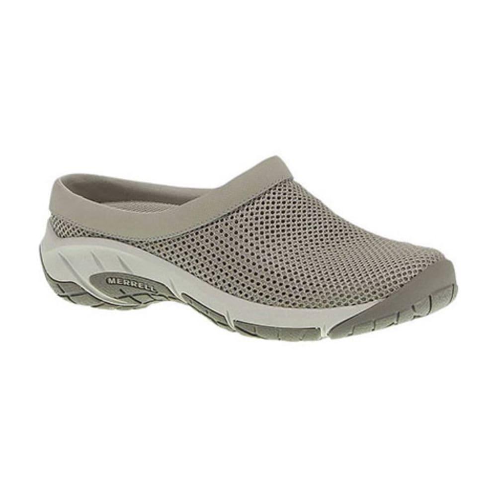 MERRELL Women's Encore Breeze 3 Shoes, Aluminum, Wide - ALUMINUM