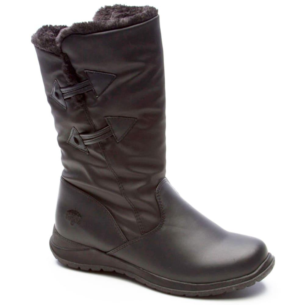 TOTES Women's Jennifer Side Zip Boots 6