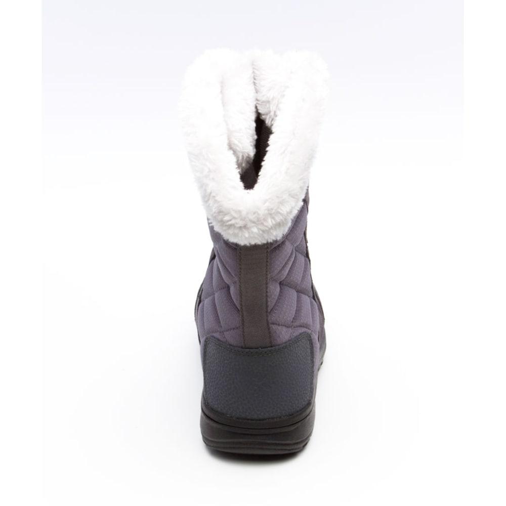COLUMBIA Women's Ice Maiden II Boots - SHALE/RASPBERRY