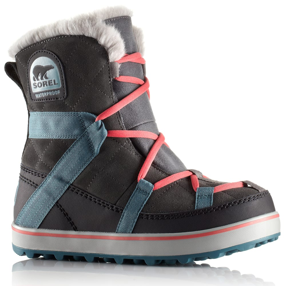 SOREL Women's Glacy Explorer™ Shortie Boots - GRILL