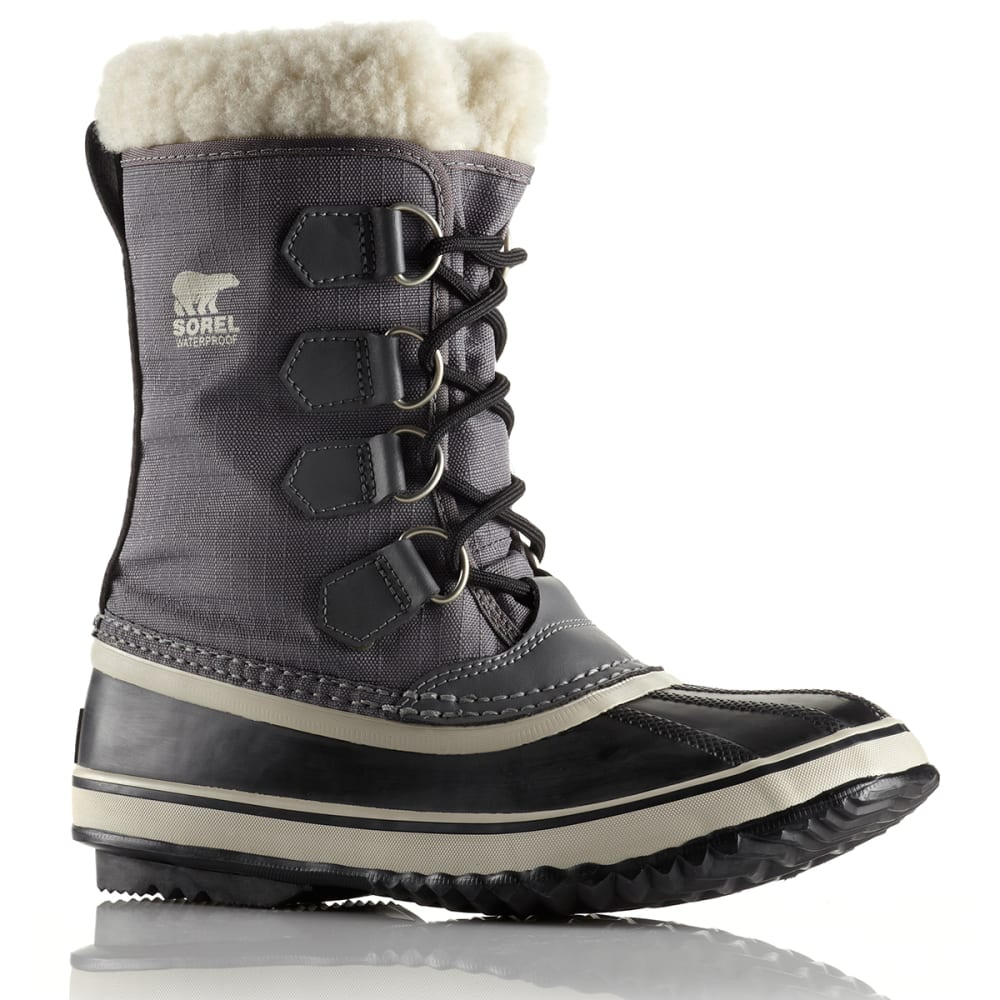 SOREL Women's Winter Carnival Boots - PEWTER/BLACK
